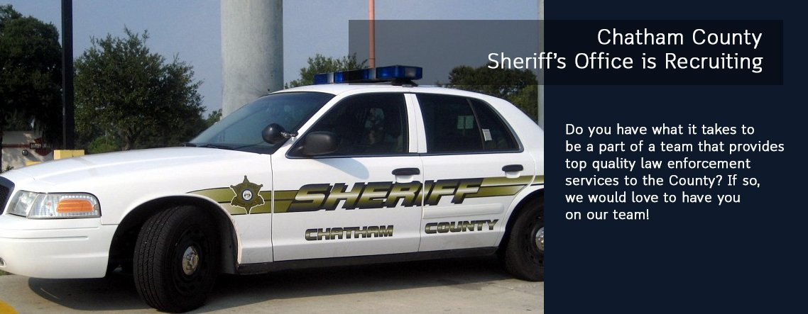 Chatham County Sheriff